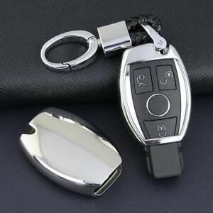Remote Car Key Fob Cover Case Shell Holder For Mercedes Benz W204 W210 W211 W212