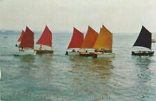 Boats, Ships - Pram Class Sailboats - Gaff Rigged