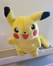 "Pikachu Pokémon Advanced Deluxe Plush Hasbro 2004 RARE 8"" Smiling"