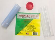 MIRACLE WELD PLASTIC Epoxy Putty Radiators Hi-Tech Plastics PVC Plumbing etc...