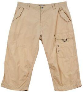 Gaastra Men's Shorts Cargo Casual Cream Cotton Pocket Button Zip Sz 36 Original