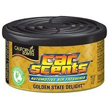 Genuine Original California Scents GOLDEN STATE DELIGHT Car Van Air Freshener