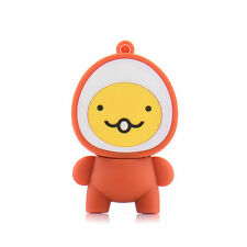 2GB Novelty Cartoon Egg Face USB Flash Drive 2.0 Memory Stick X 2
