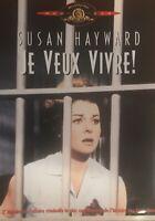 JE VEUX VIVRE! Susan Hayward ~ Region 2 French Dvd