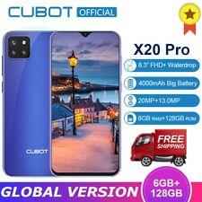 CUBOT X20 Pro Smartphone 128GB 6GB Android 9.0 Dual SIM Handy Octa Core 4000mAh