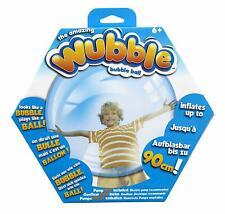 New The Amazing Wubble Bubble Ball - No Pump- Toy Squishy Bounce Fun- Blue