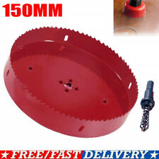 Hot 6 inch 150 mm Hole Saw Blade Corn Hole Drilling Cutter Woodworking Tool Sl