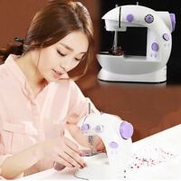 Portable LED Electric/Mains Handheld Mini Stitch Sewing Machine Battery Powered