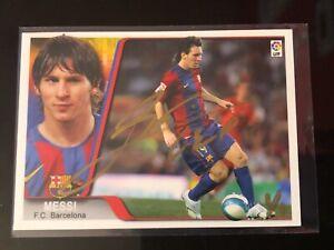 2007-08 Panini Editiones Estadio La Liga Lionel Messi Buy Back Auto 1/1 Read!