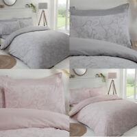 Paisley Paste Reversible Duvet Bedding Set & Pillowcases Single Double King