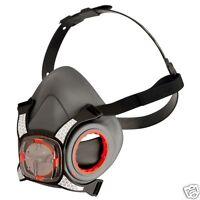 Dust Face Mask Genuine JSP Force 8 Half Mask, Safety PPE - Without Filters