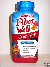 vitafusion Fiber Well 220 Gummies *Digestive, Regularity Support, Prebiotic*