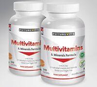 Multivitamins & Minerals Formula 2 x 240 tablets Bottle Multivitamin Futurevits