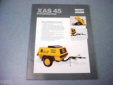 Atlas Copco XAS 45 Portable Compressor Deutz Diesel Brochure
