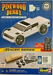 Revell Ford Pinewood Derby Racer Series Kit #RMXY9418 (With Official Wheels)