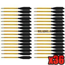 *NEW* 36x Aluminum Metal Arrow Bolts for 50lb & 80lb Pistol Crossbow Bow - USA