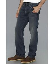 $198 Seven 7 For All Mankind Men's Carsen Easy Straight Leg Vintg Dark Jeans 32