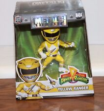 (NEW SEALED) DIE CAST METALS POWER RANGER YELLOW RANGER TOY COLLECTIBLE