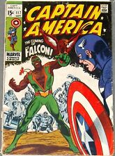 CAPTAIN AMERICA #117 119 1st Appearance of The Falcon 1969 MCU Marvel #comics