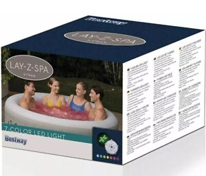 Bestway Lay-Z-Spa 7 Colour LED Light Fits All Air jet Lay-Z-Spas Hot Tub Lights