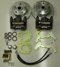 1960-1965 falcon  front disc brake changeover for six cylinder spindles 5 lug