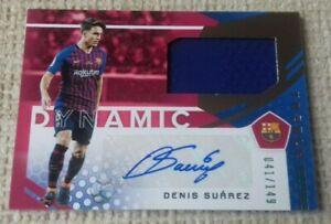 Panini Denis Suárez auto card*