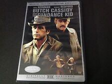 BUTCH CASSIDY AND THE SUNDANCE KID ( DVD ) PAUL NEWMAN ROBERT REDFORD