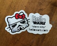Star Wars Hello Kitty Storm Trooper Sticker Decal Hellowars Family Car Stickers