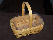 Longaberger Parsley Basket and Protector, 2000