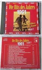 DAS GOLDENE SCHLAGER ARCHIV 1961 / Folge 2 - Peter Steffen, Heidi Brühl,... CD