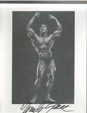 Frank Zane Mr Olympia / Mr Universe Bodybuilding Muscle Photo Signed