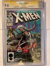 X-Men #216, CGC 9.6 signature series signed by Stan Lee with COA