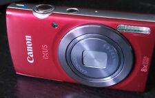 Canon IXUS 160 20.0 MP Digitalkamera rot + 8 GB Speicherkarte
