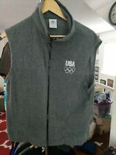 Vintage USA Olympics Made In USA Fleece Best XL polyester