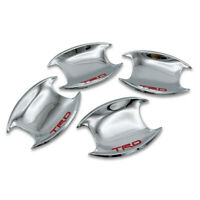 Hand Bowl Insert Cover Chrome, Red Fits Toyota Hilux Fortuner Innova 2015 - 2019
