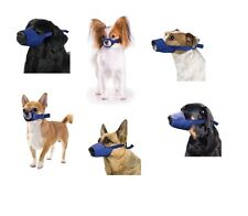 Quick Muzzle for Dogs - XXS to XXXL - Safety Adjustable straps Quick release