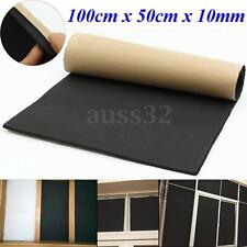 1 Roll Rubber Sound Proofing & Heat Insulation Sheet Closed Cell Foam 100 x 50cm