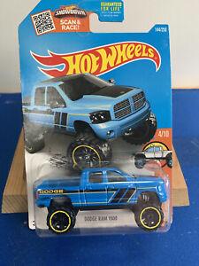 Hot wheels DODGE RAM 1500 HW HOT TRUCKS blue