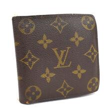 Auth LOUIS VUITTON Monogram Porte Billets Cartes Credit Monnaie M61665 Bifold