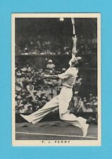 TENNIS  -  WILLS  -  SCARCE  TENNIS  CARD  -  FRED  J.  PERRY  -  1937