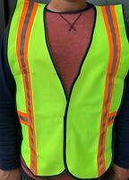 Economic Adjustable High Visibility Safety Vest, ANSI/ ISEA 107-2015