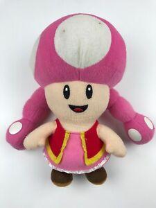 Super mario toad mushroom  plush 6' stuffed toy doll