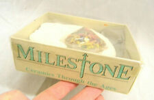 MILESTONE Ceramics through the ages Schälchen England Pottery Vintage