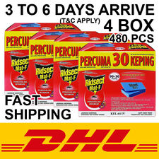 4 Box/480 Pcs Mosquito Repellent Tablet Mat Ridsect Class IV Fast Ship By DHL