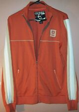 Guess Jeans Authentic Jacket Size S ORANGE,Everyday,Long Sleeve CottonPolyester