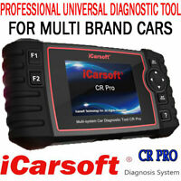 iCarsoft CR PRO - 2019 FULL System ALL Makes Diagnostic Tool ATHURISED DEALER UK