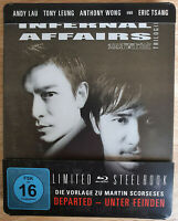 Infernal Affairs Trilogie Bluray Kelly Chen Tony Leung Like New Neuwertig I II