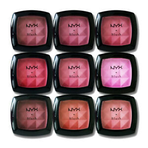 NYX Professional Powder Blush Rose, Peach, Pinched Travel Compact