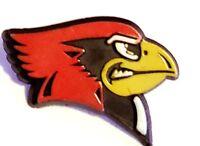 """Mini 1/2"""" Cardinals Fan Lapel Pin"""