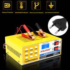 Caricabatterie Mantenitore Auto Moto Automatic Intelligent Pulse LED 12V/24V